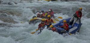 Rafting in Minakami
