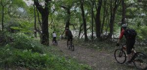 Mountain biking Minakami
