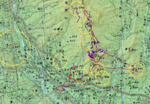 paraglider route